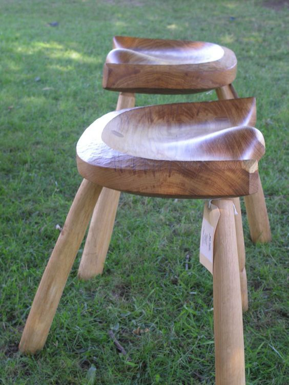 "3"" oak seats. Neil Taylor Furniture Bespoke Hand Crafted Wooden Furniture:"