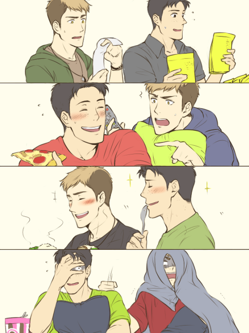 Jean x marco au fanfiction i m here for you too child jean x