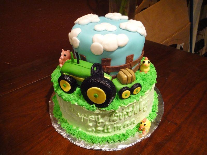 John Deere Tractor Birthday Birthday Ideas Pinterest Tractor