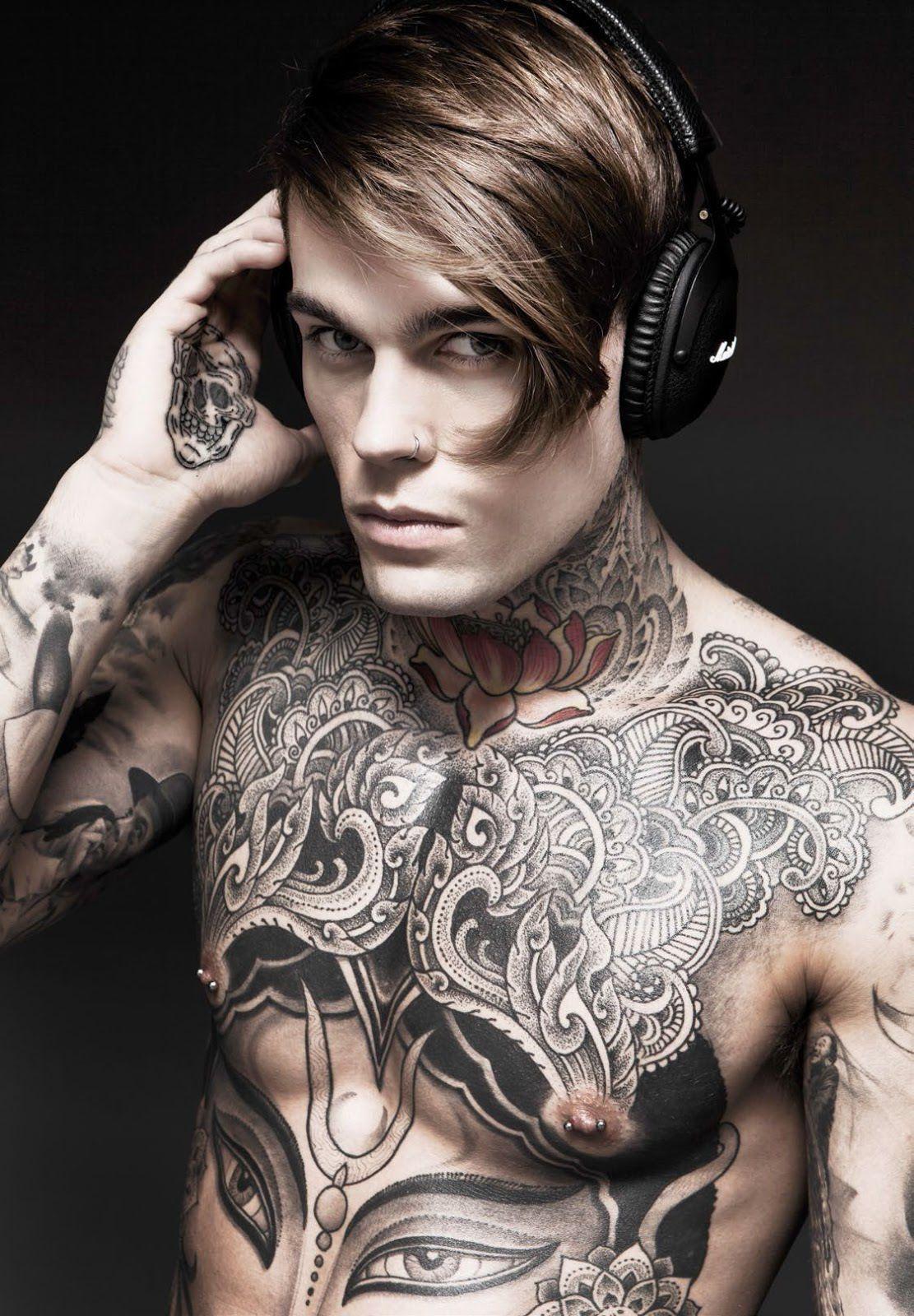 Top Ten Modelos Tatuados Modelos Tatuados Stephen James Tatoo