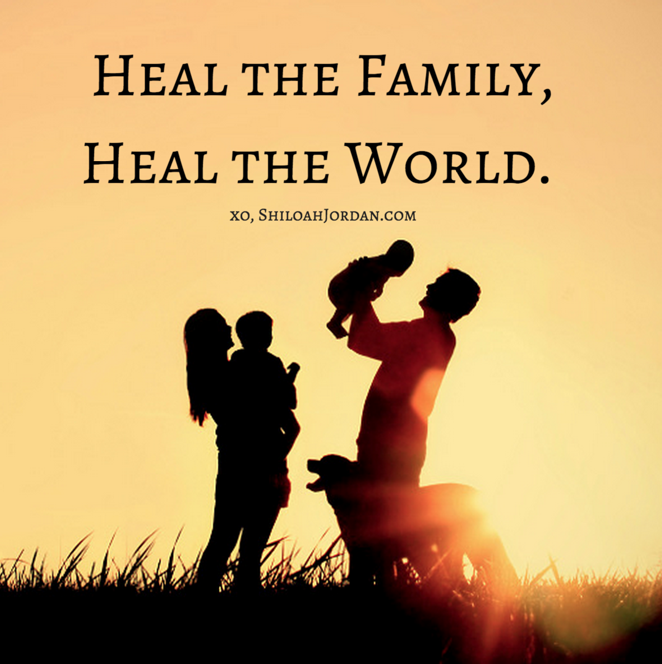 Join the movement. Heal the Family, Heal the World.   Learn more at www.MySassyGrass.com
