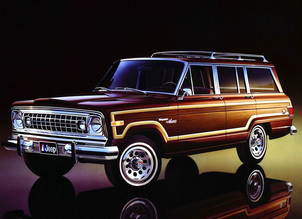 Why The Jeep Wagoneer Is So Badass In 2020 Jeep Wagoneer Vintage Jeep Jeep Grand