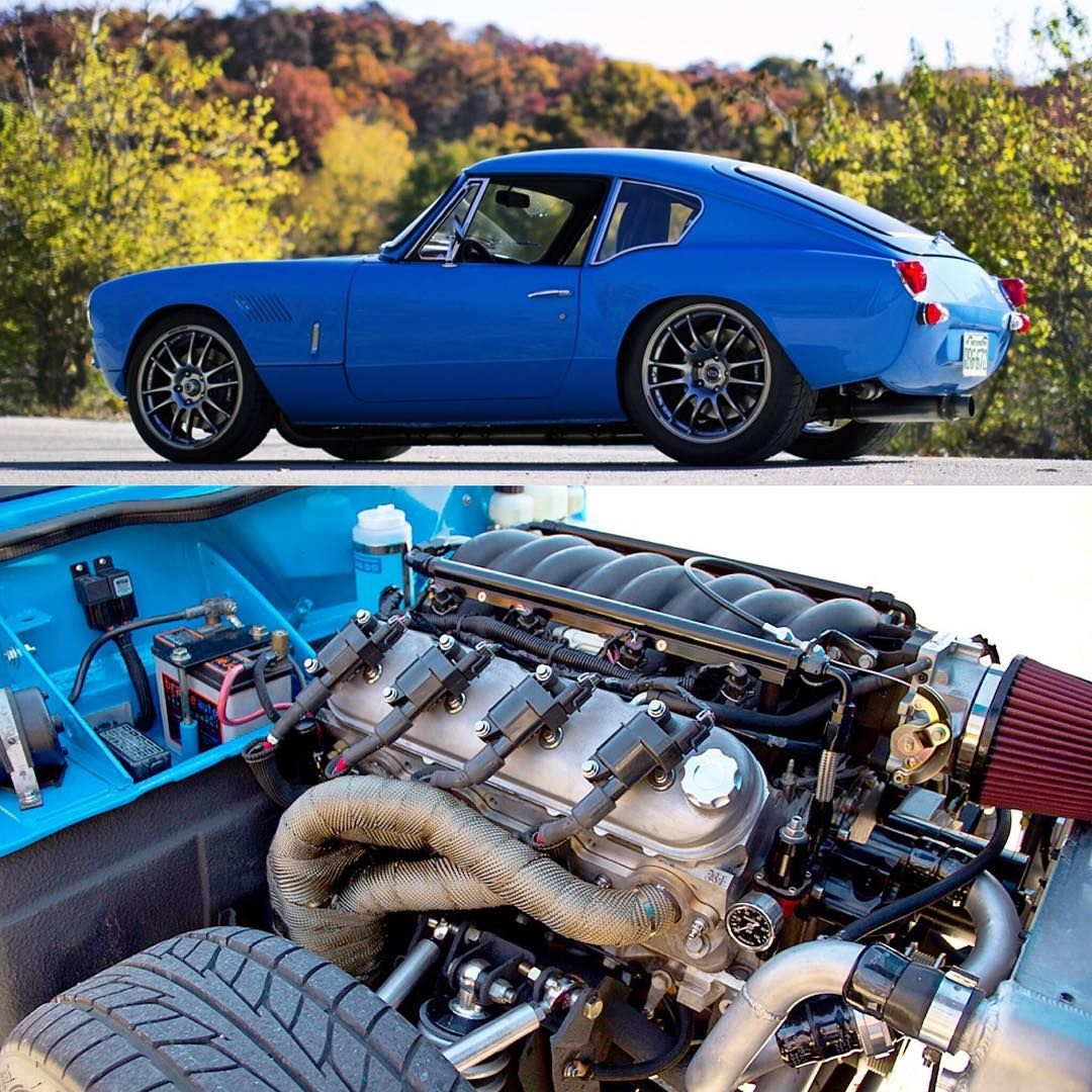 LS swapped Triumph GT6🤘🏼🇺🇸 Little Car Big Engine! Built