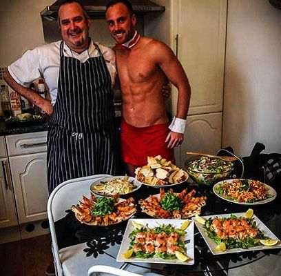 Indulge Yourself With This Classy Yet Cheeky Naked Chef Spanish Meal Hen Do Henparty Nakedchef