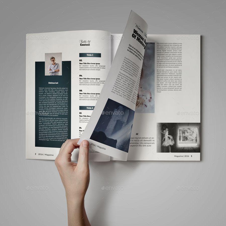 Free Indesign Template Multipurpose Magazine: Multipurpose Magazine Template #Multipurpose, #Magazine