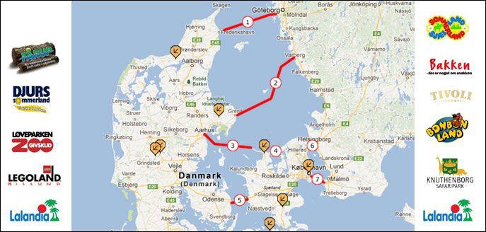 aarhus danmark karta Semester med barn i Danmark | Sommar 2016 | Pinterest aarhus danmark karta