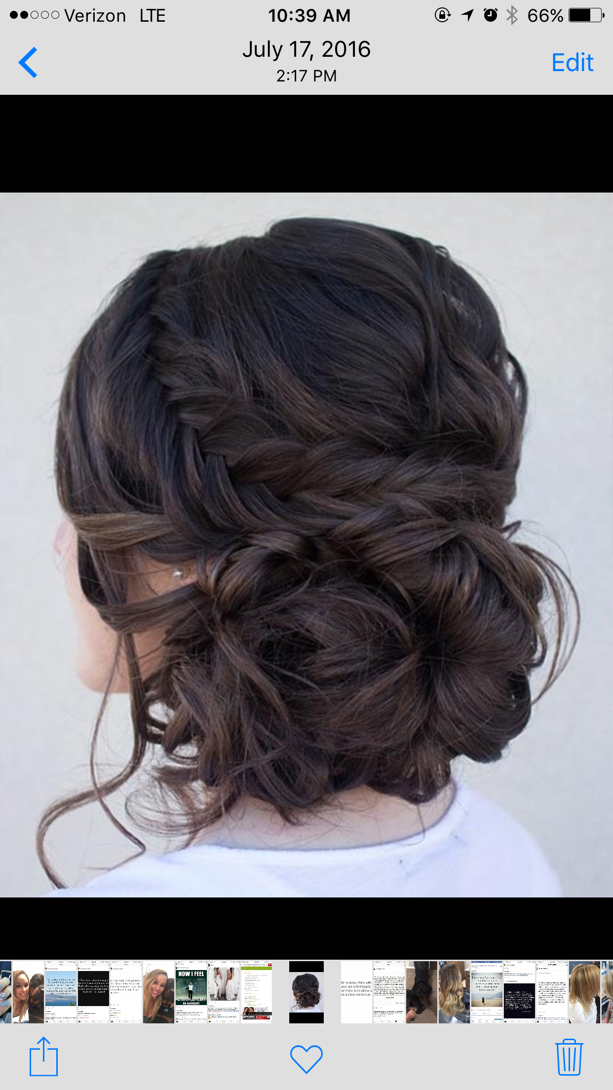 Pin by kadie crist on hair styles i like pinterest prom hair