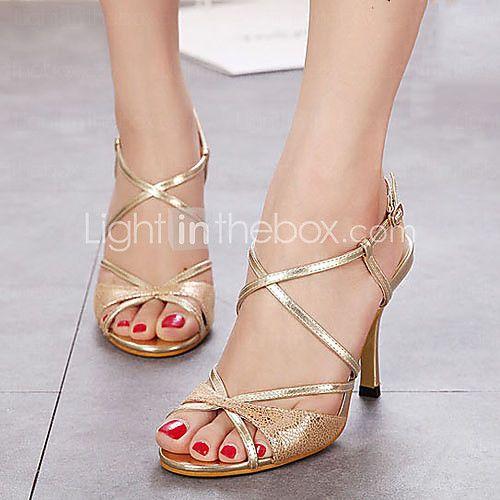 Women's Shoes Stiletto Heel Open Toe Sandals Dress More Colors available -  USD $ 34.99