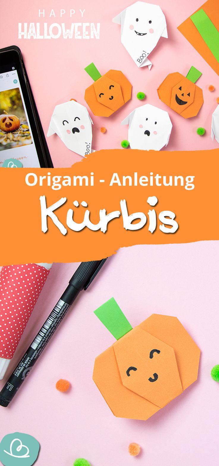 Halloween Origami  Boo!: einfache Faltanleitungen