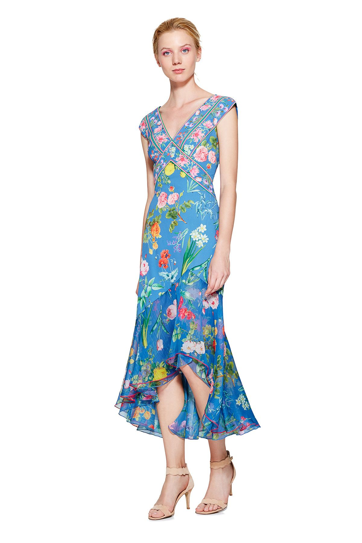 Tadashi Shoji - Clara High-Low Dress   Dress   Pinterest