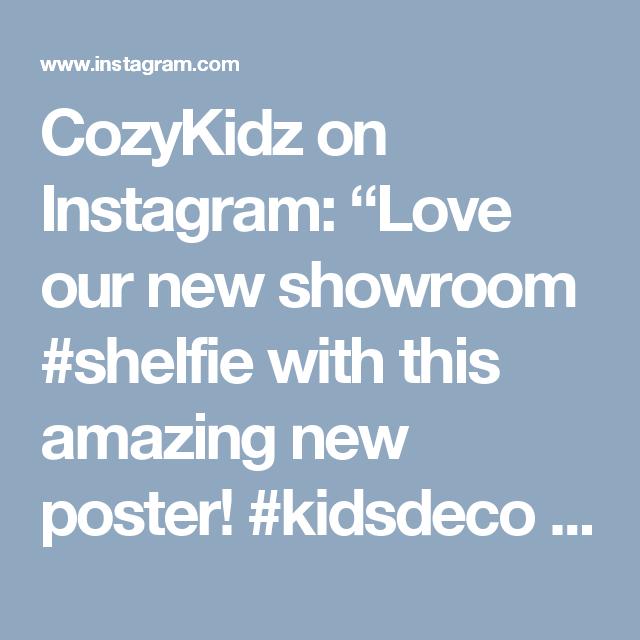 "CozyKidz on Instagram: ""Love our new showroom #shelfie with this amazing new poster! #kidsdeco #kidsroom #nursery #kinderkamer #babykamer #kidsroom #britasweden…"""