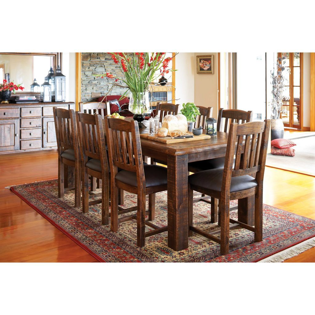 Kitchen Ideas New Zealand: Rocky Rectangular Dining Suite By Urban Imports From Harvey Norman New Zealand - $2,799.00