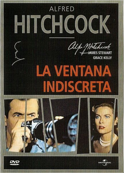 Rear Window Poster La Ventana Indiscreta Cartel Spanish