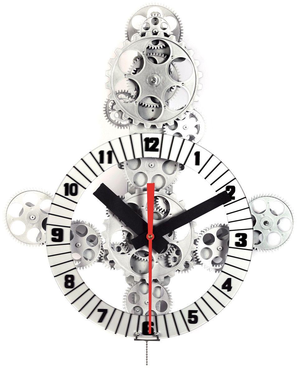 Maples Clock Moving Gear Wall Clock Gear Wall Clock Wall Clock Clock