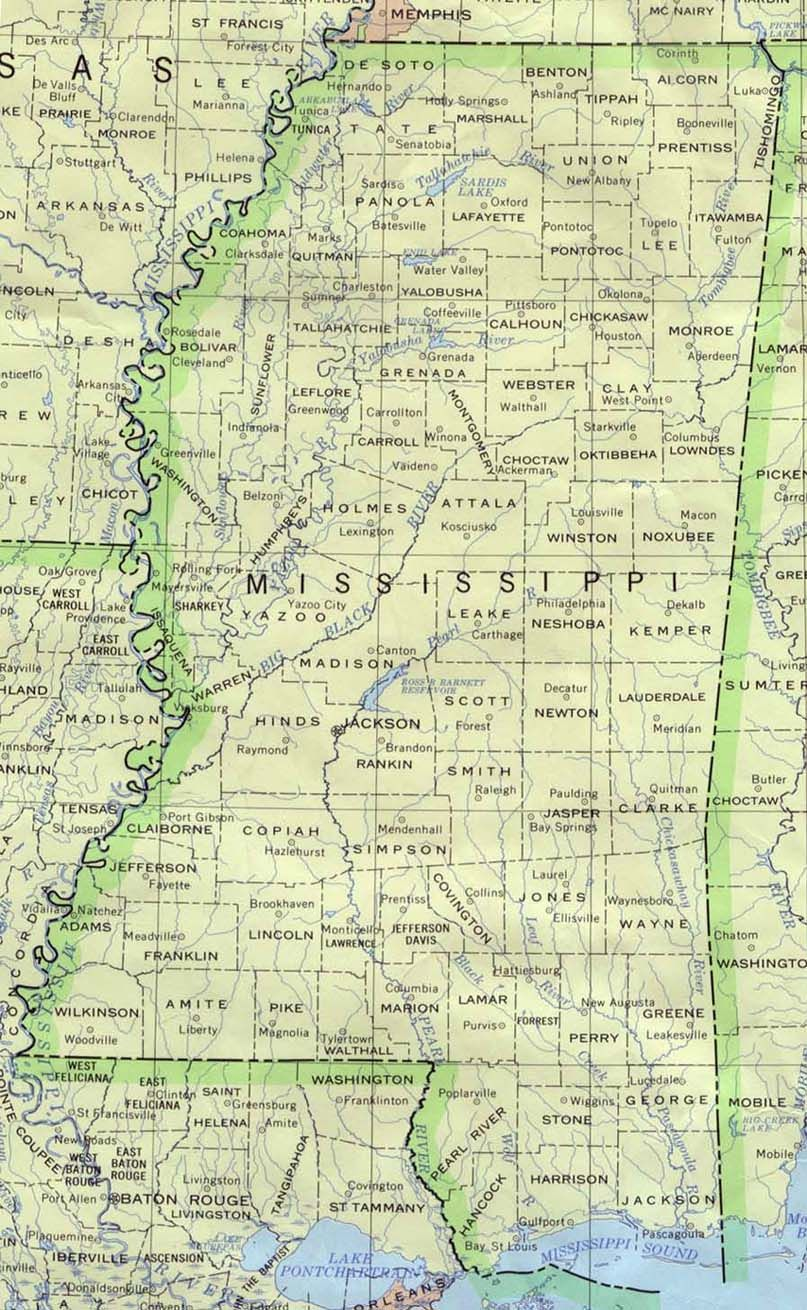 mississippi maps with counties and cities Free State Maps With County And City Mississippi Base Map mississippi maps with counties and cities