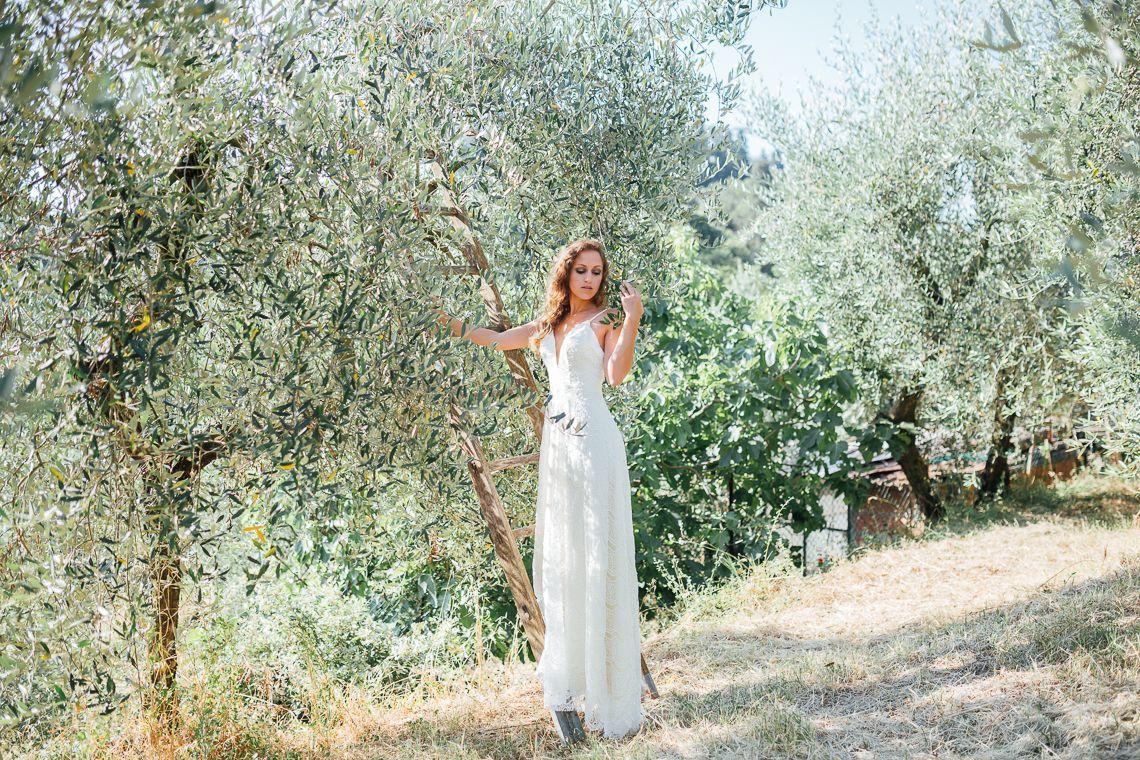 Tuscan Inspiration Dress Shyafan By Fan Xia Alex Gerrard