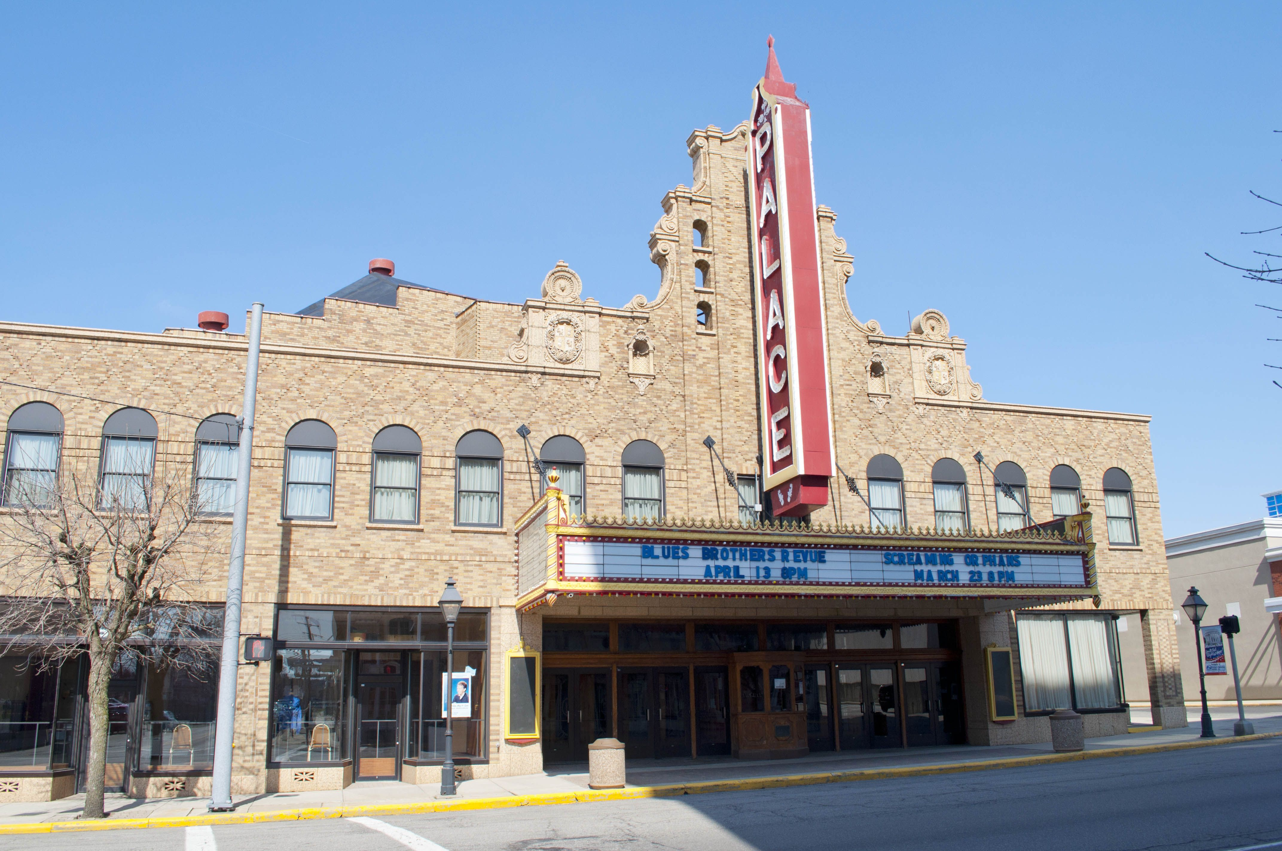 The Palace Theatre In Marion Ohio Ohio History Ferry Building