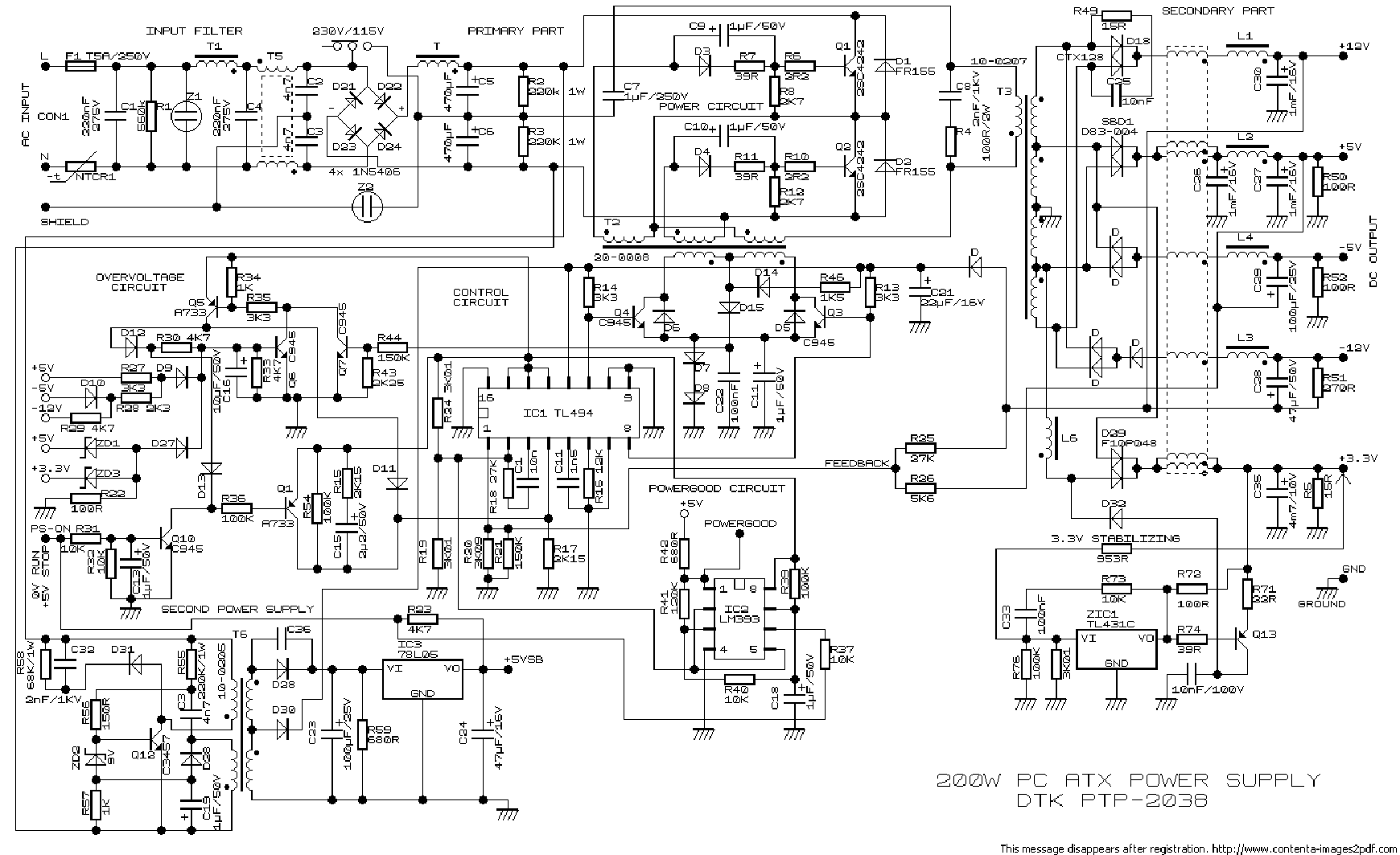 Ps 4241 9hb schematic