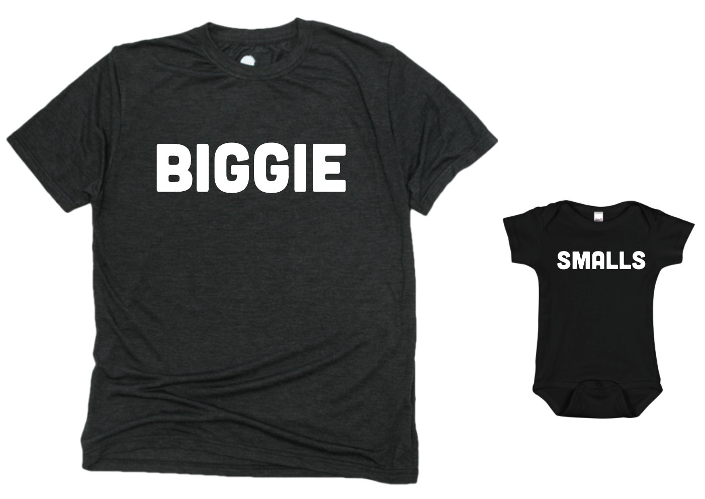 ce37ff996 Biggie Smalls Matching Kids Tee/Baby Onesie (SMALLS TEE) | Saturday ...