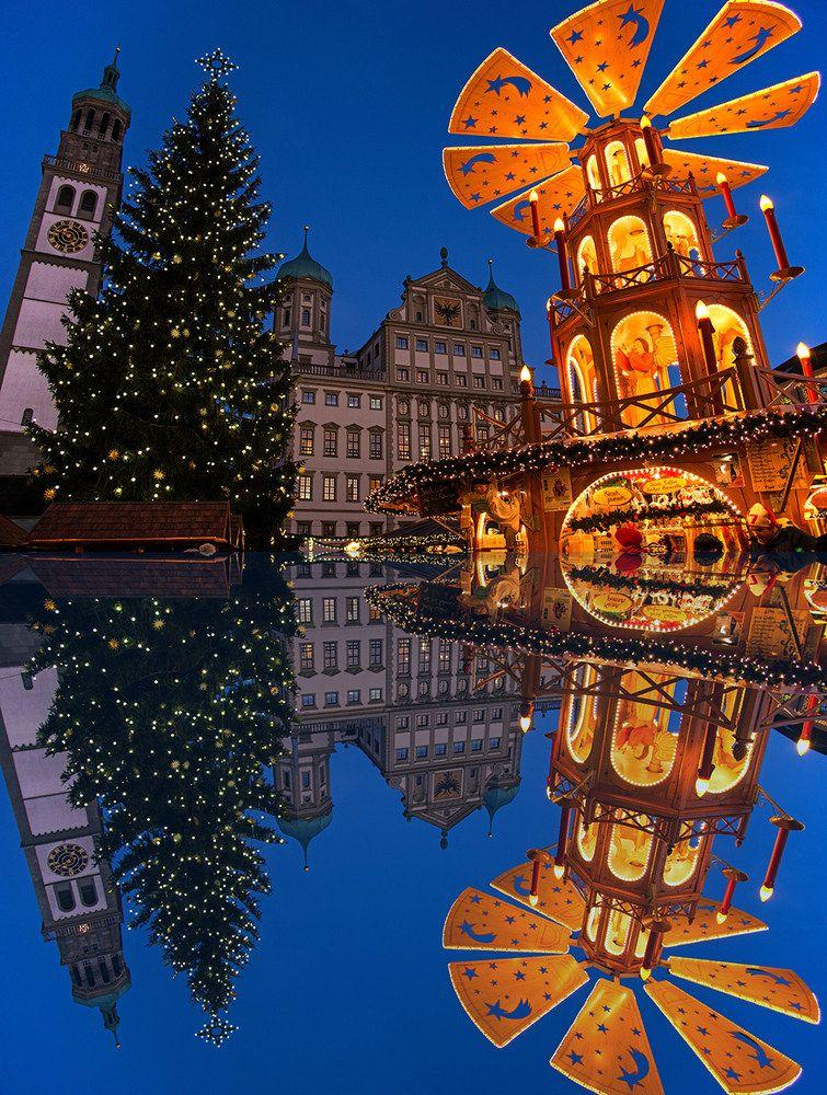 weihnachtsmarkt augsburg alemania alemania viajes und. Black Bedroom Furniture Sets. Home Design Ideas