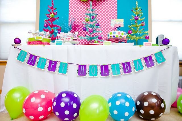 LOVE this colorful party Gorgeous IDEAS PARA FIESTAS Pinterest