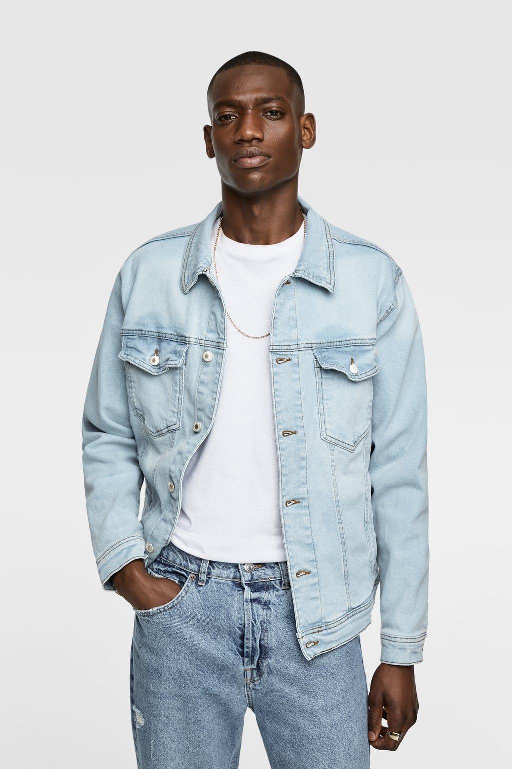 Https Www Zara Com Fr Fr Veste En Jean Basique P04454322 Html V1 8380860 Denim Jacket Mens Clothing Styles Jackets [ 1537 x 1024 Pixel ]