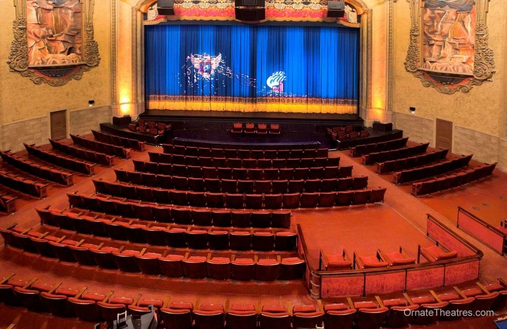 Balboa Theater San Diego Seating Chart