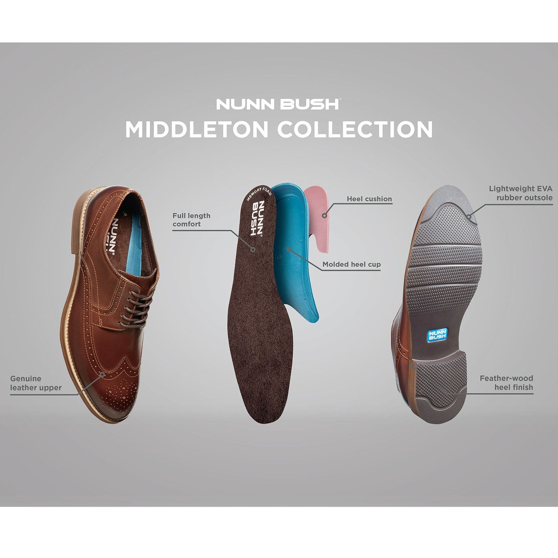 6ea06ade04d88 Nunn Bush Middleton Men¡¯s Cap Toe Dress Chukka Boot #Middleton, #Men, #Nunn,  #Bush
