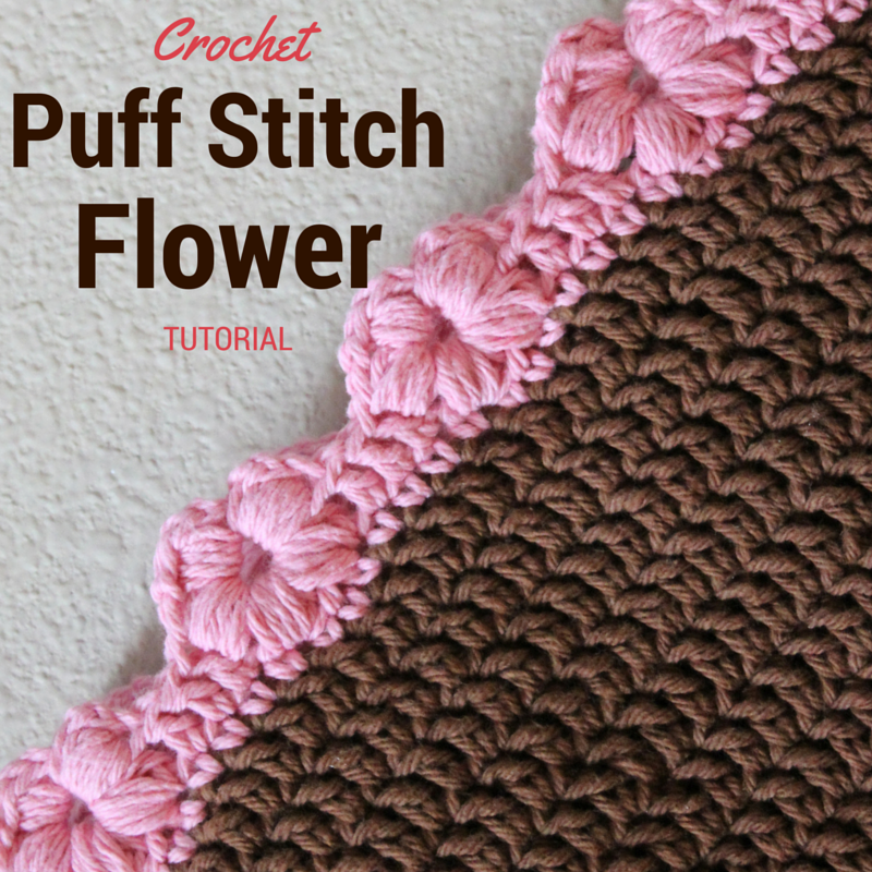 Photo Tutorial] This Puff Flower Stitch Is Perfect For An Edging Or ...