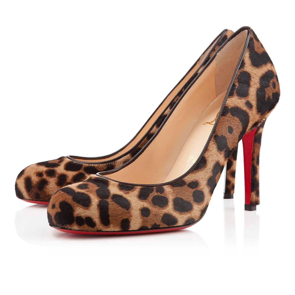 online store 8ddfc fb5ef Christian Louboutin Simple Pump 100mm Leopard | Wardrobe ...
