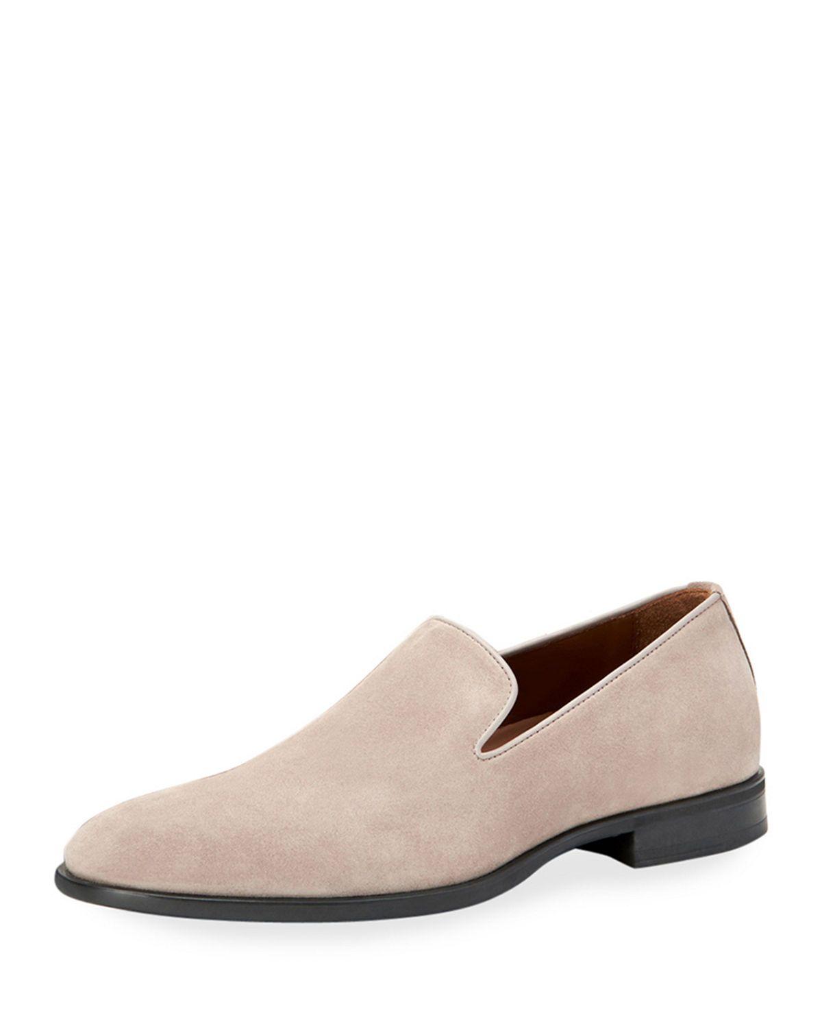8dfe7e79e72 AQUATALIA MEN S AIDEN SUEDE SLIP-ON LOAFERS.  aquatalia  shoes ...