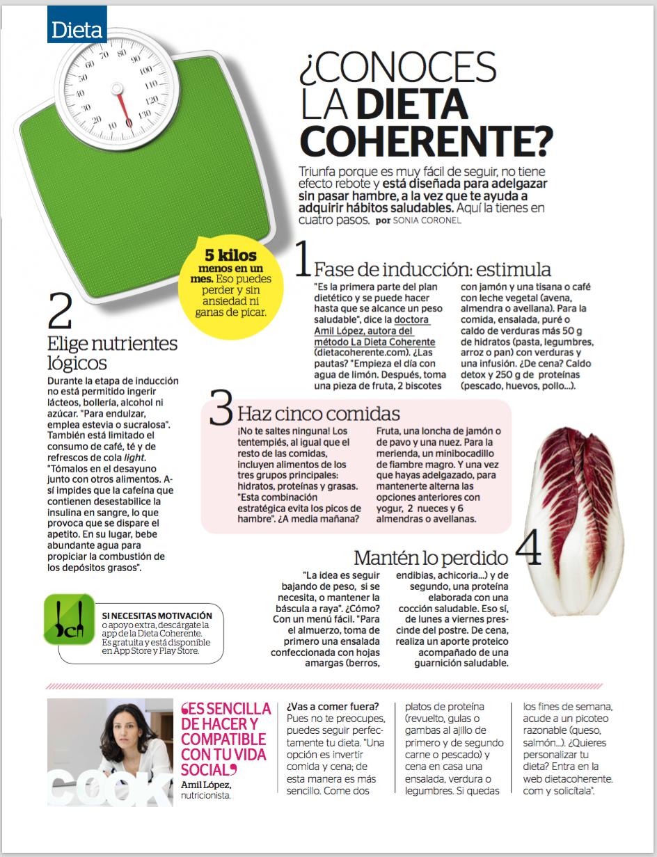 Descubre a trav s de nuestra publicaci n en la revista mia - Perder 5 kilos en un mes ...