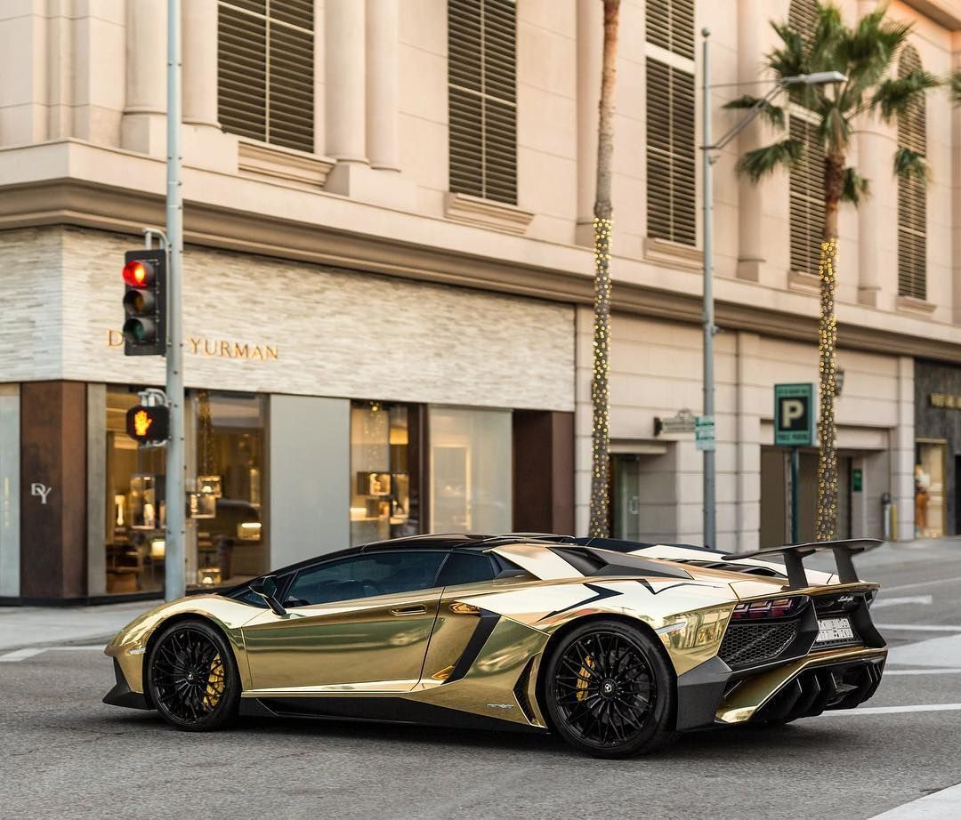 790 Likes 2 Comments Maxx Shostak Maxxshostak On Instagram Chrome Gold Sv Roadster On Rodeo Lamborgh Lamborghini Aventador Gold Lamborghini Roadsters