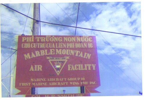 1st Marine AirCraft group , MARBLE MOUNTAIN AIR FACILITY 5km