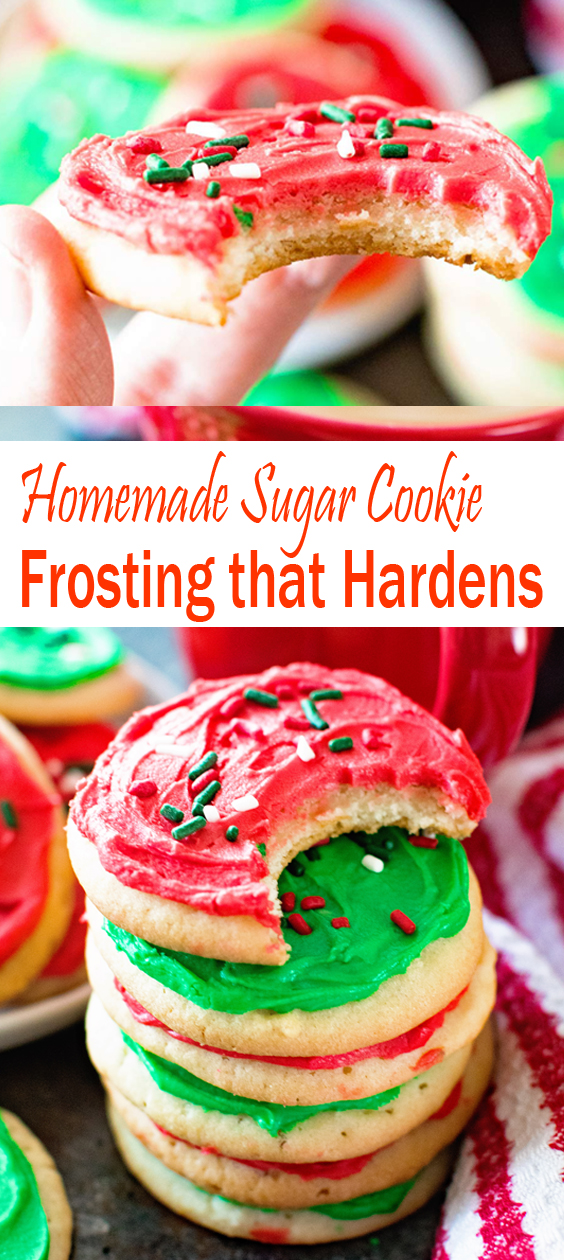 Homemade Sugar Cookie Frosting that Hardens  Delicious Recipes Homemade Sugar Cookie Frosting that Hardens  Delicious Recipes