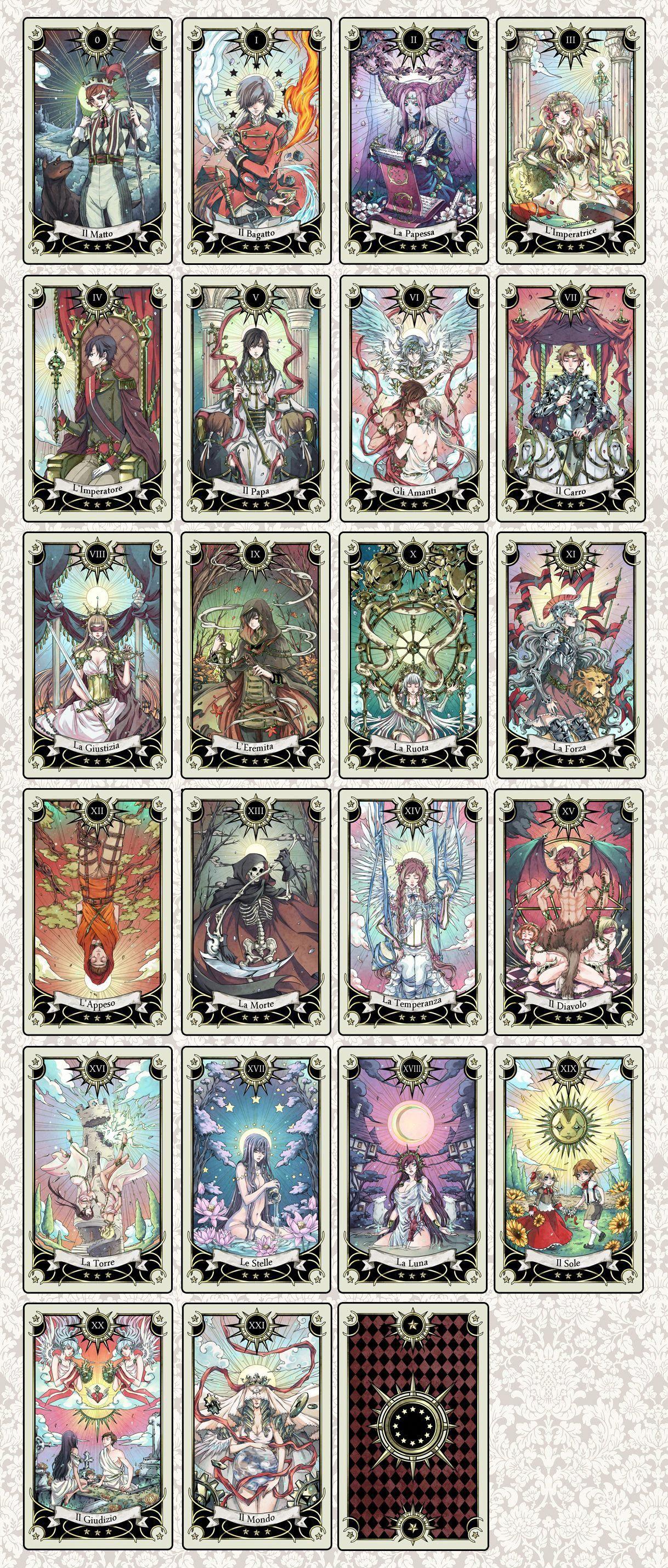 27++ Anime art tarot cards inspirations