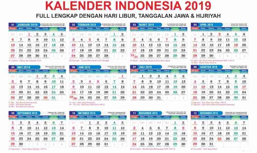 Druckbare Kalender 2019 Vorlage In Pdf Word Excel Kalender