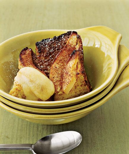 Pear Bread Pudding | For a true taste of fall, whip up one of these savory or sweet pear dishes.