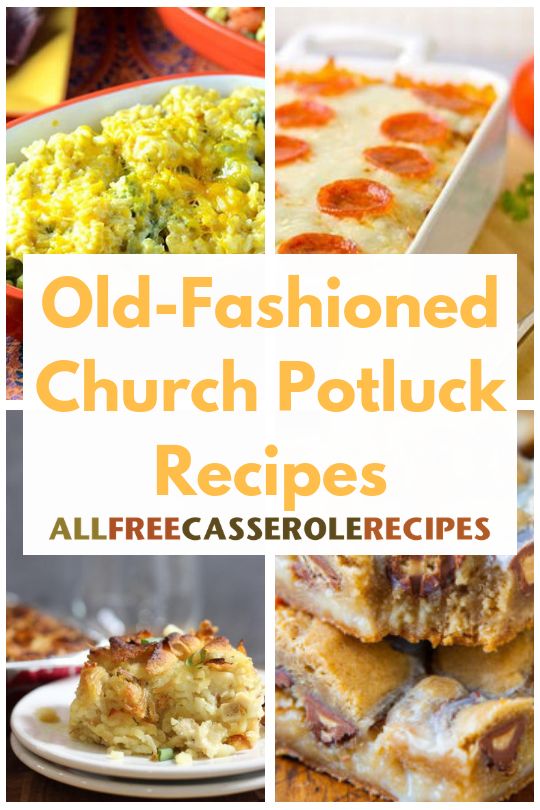 25 Old-Fashioned Church Potluck Recipes