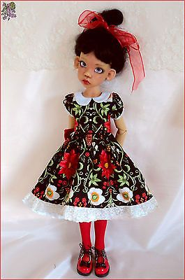 Hope Christmas Dress for Kaye Wiggs Hope Layla MSD BJD | eBay