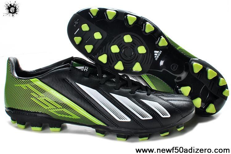 Buy Black White Green Adidas F10 TRX AG Shoes Store