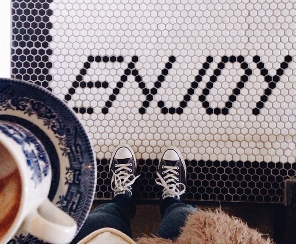 Penny tile Interiors Pinterest Penny tile and Interiors