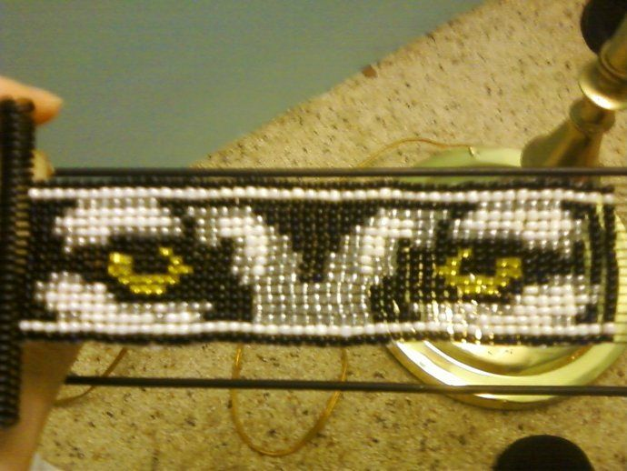 Patterns for Loom Beaded Wolf Eyes
