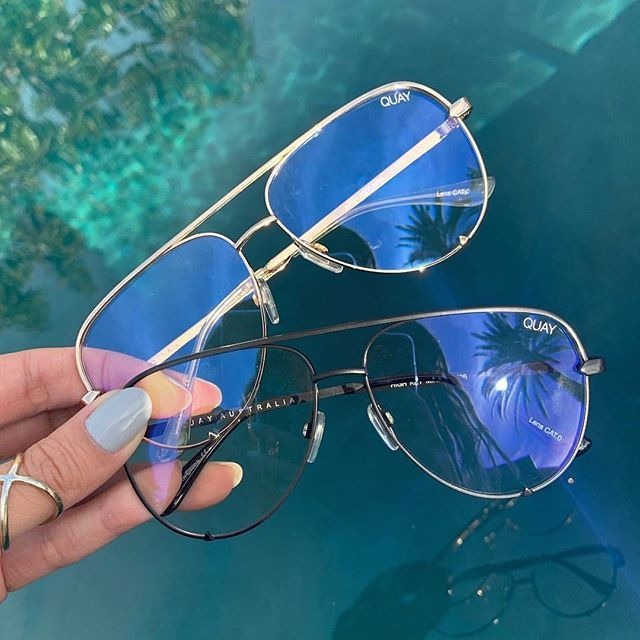 fantastic savings discount shop coupon codes Back in stock QUAY High Key Gold Bluelight In store & onlineKeep ...