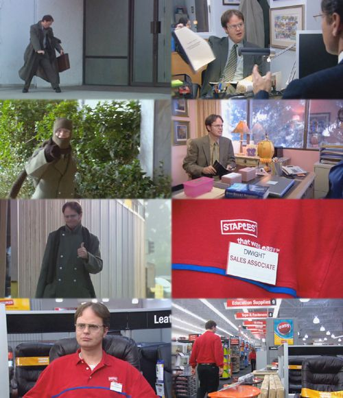 Dwight For your convenience, Iu0027ve broken it down into three parts - dwight schrute resume