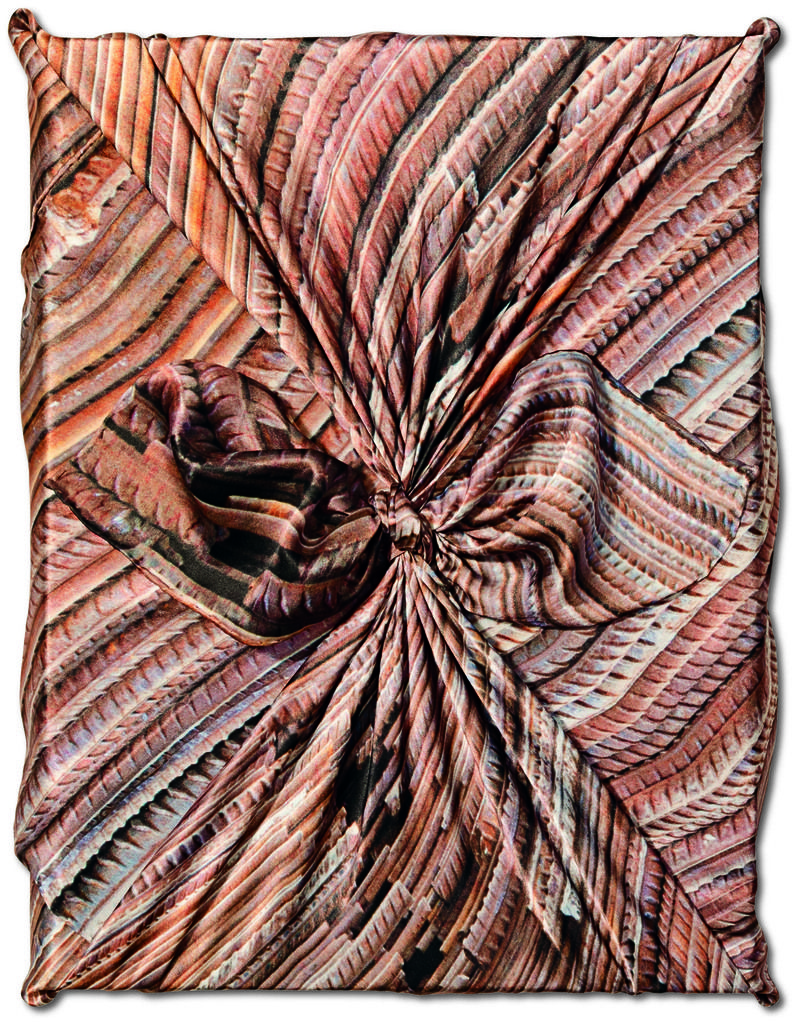 AI WEIWEI Ai Weiwei, 2014 Hardcover, clothbound, wrapped in a silk scarf, 13.0 x 17.3 in., 724 pages 17 3/10 × 13 in 43.9 × 33 cm Edition of 1000