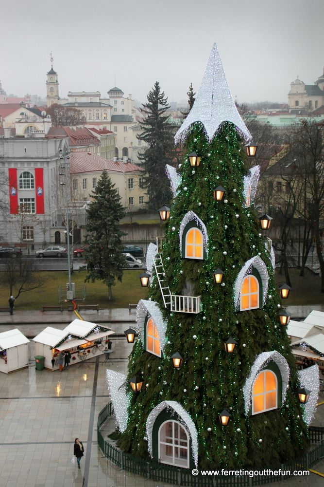 An Enchanted Christmas In Vilnius Lithuania Awesome
