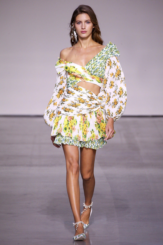 Zimmermann spring readytowear fashion show spring fashion