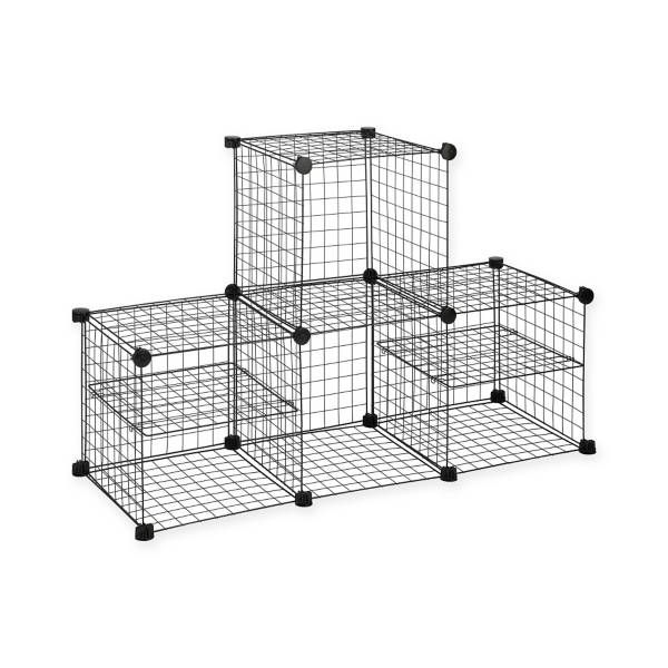 20 Product Image For Grid Wire Modular Shelving And Storage Cubes