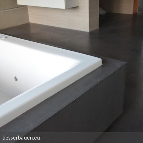Beton Badezimmer